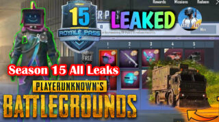 PUBG Mobile Season 15 Finally Released Leaks: Loot Truck, Released Date, Skins, Guns, Corrona Virus Mode in PUBG Mobile Updates