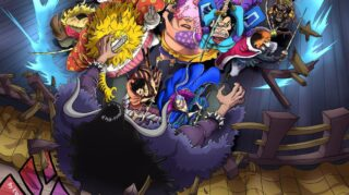 ONE PIECE Chapter 987, check out here the complete Review & Analysis,  check out here Flowing Cherry Blossoms