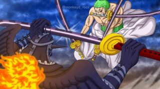 Spoilers for One Piece Chapter 990: Luffy and Zoro vs King, Big Mom Pirates will Join with Kaido!