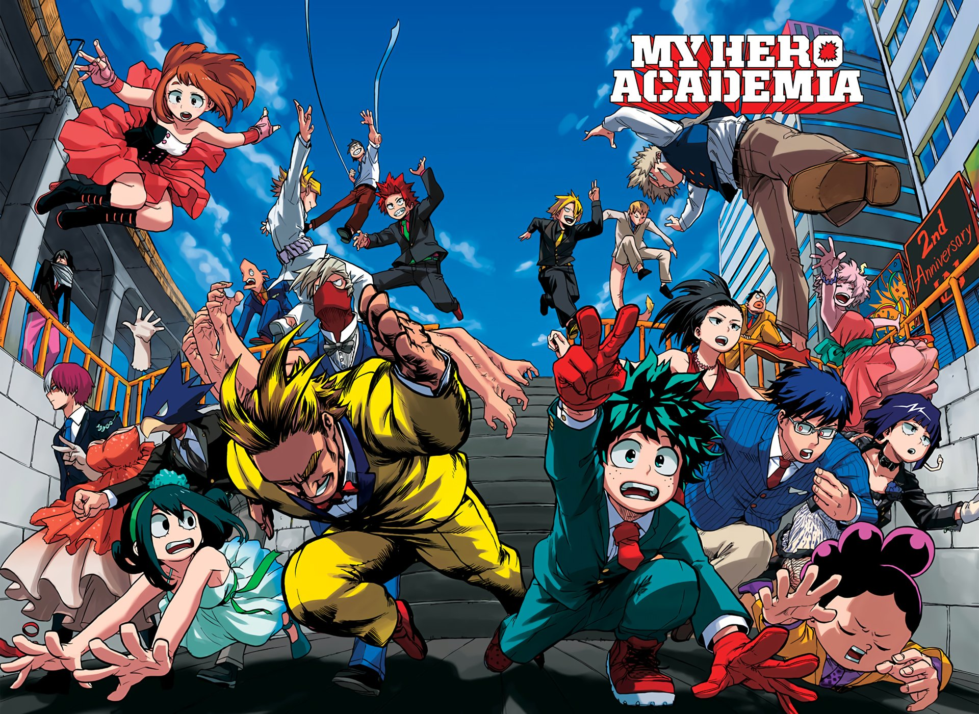 Spoilers and Raw Scan For My Hero Academia Season 5 Release will in spring 2021, and other more updates.