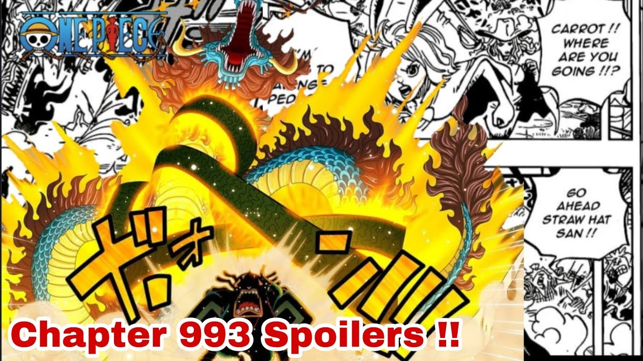 Pure Spoilers For One Piece 993, Release, Leaks, Raw Scan, and more.