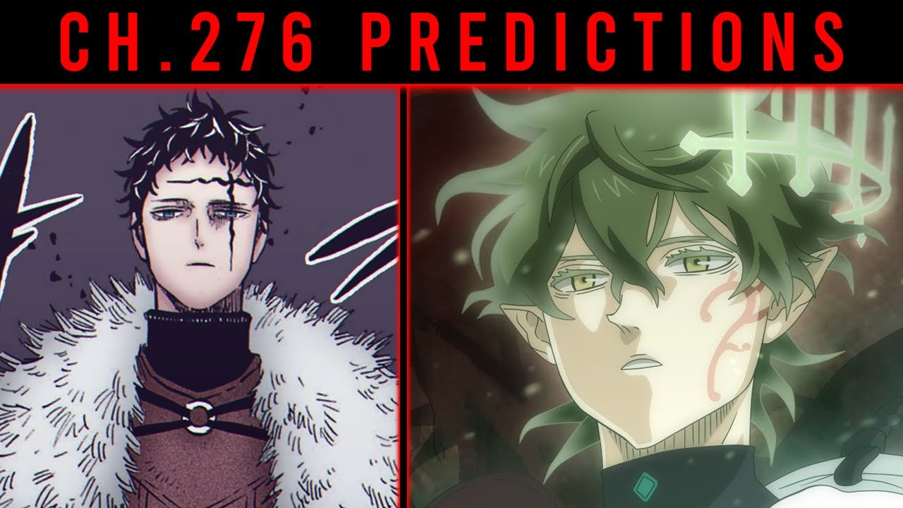 Raw scan and leaks For Black Clover Chapter 276, Release, Assumptions and much more.