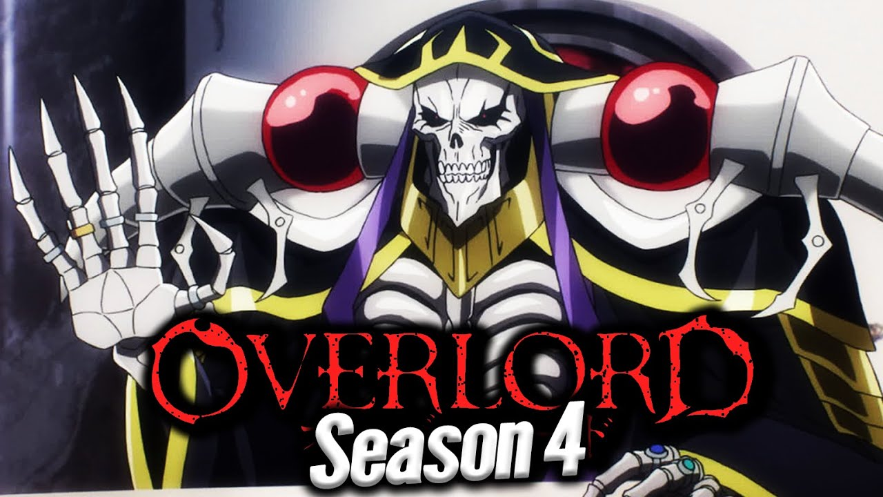 Spoiler and Leaks For Overlord Season 4, Release and much more.