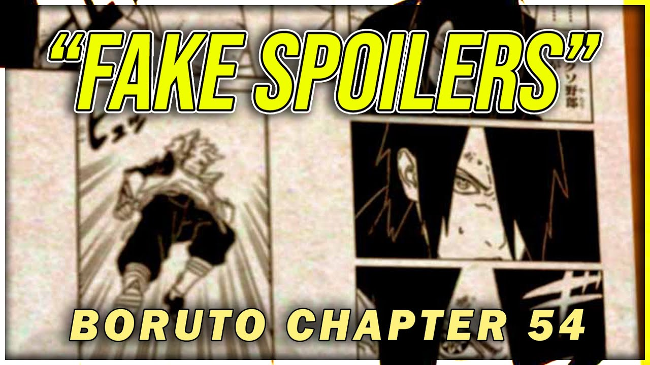 Release date for Boruto Chapter 54, Spoilers and much more.